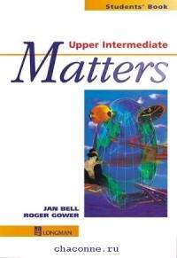 Matters Upper-Intermediate  SB